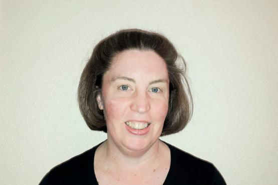 Image of Michelle Edgar smiling to camera