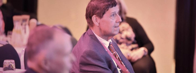 Steve Palmer, our Chair, at a meeting